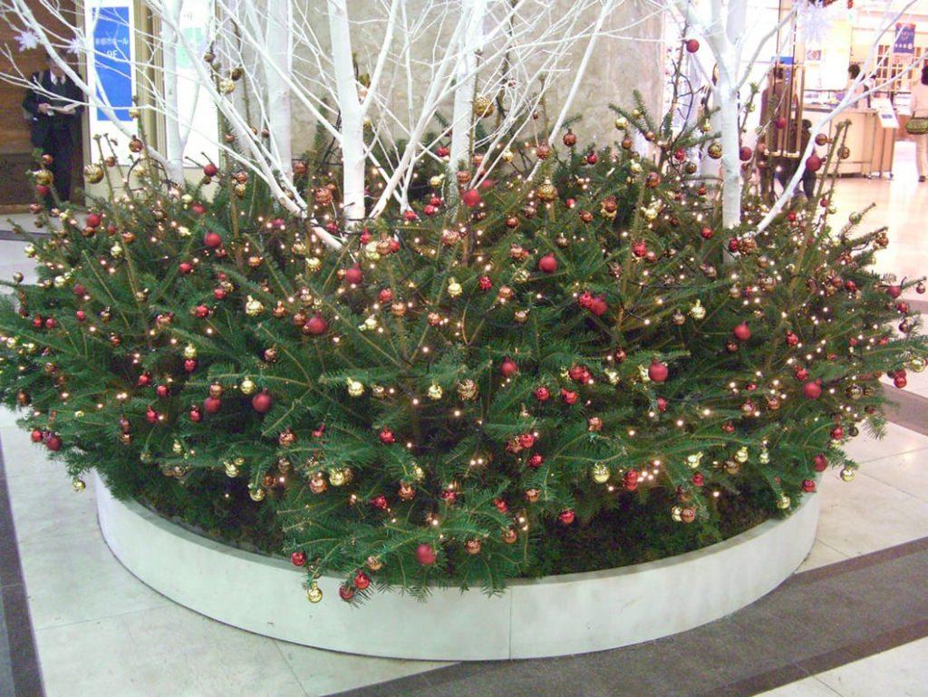 写真:S百貨店 クリスマスディスプレイ8